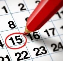kalender jadwal